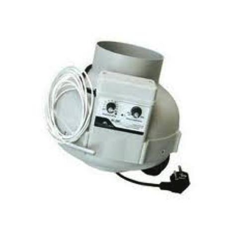 Ventilation kit 800m3 h geschwindigkeitssteuerung und for Thermostat interieur