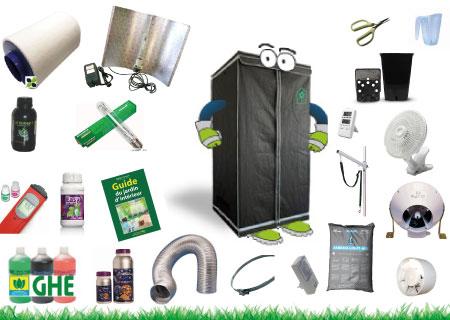 Growshop easygarden ch culture d 39 int rieur indoor culture for Materiel culture interieur